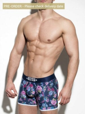ES Collection Flowery Boxer UN252 Navy