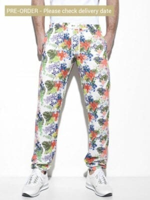 ES Collection Tropic Floral Pant ESJ041 White