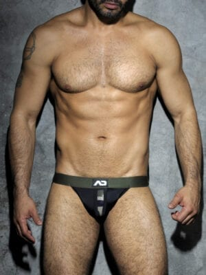 Addicted ADF18 Camouflage Panel Jock Black W