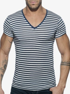 Addicted AD587 Sailor T-Shirt Navy W