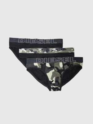 Diesel 3 Pack Andre Briefs 00SH05 Black