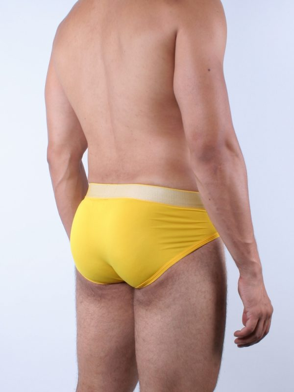 Calvin-Klein-Hip -Brief-NB1294A -Sunflower-1