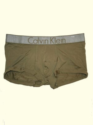 Calvin Klein Low Rise Trunk NB1195A Martini Olive