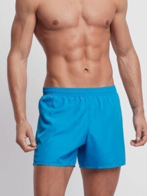 Emporio Armani Ultralight Packable Swimming Trunks With Bag 211746 Sea Blue
