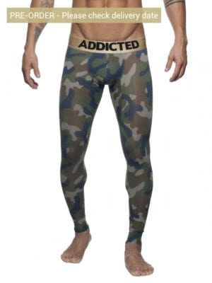 Addicted AD694 Camo Long John Khaki