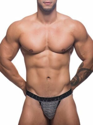 Andrew Christian Sheer Strap Y-Back Jockstrap 90859 Grey