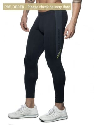 Addicted AD631N Running Tights Black