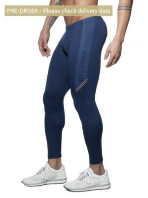 Addicted AD631N Running Tights Navy