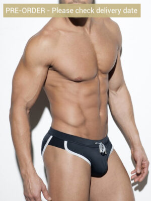 ES Collection 1806 Andy Rocky Brief Black