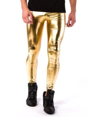 Kapow 24 Carat Meggings Gold Metallic