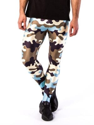 Kapow Apocalypse Now Meggings Blue