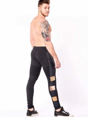 Kapow Bronze Warrior Supreme Meggings Black