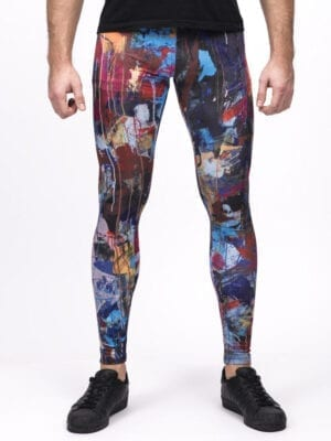 Kapow Dissaray Meggings Multi Color