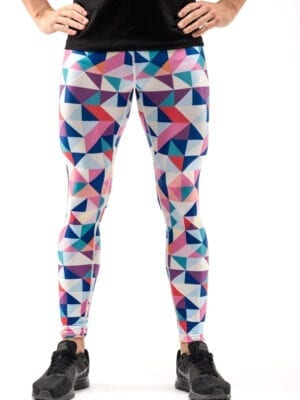 Kapow Geotec Performance Meggings Blue Pink