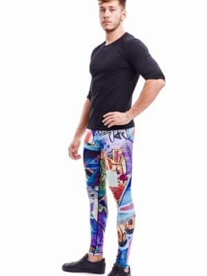 Kapow Revolution X Meggings Multi Color