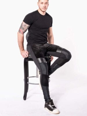 Kapow Sabre Supreme Meggings Black