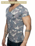 addicted ad800 washed camo t-shirt c17