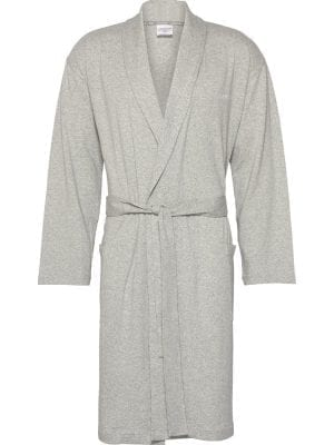 Calvin Klein Badjas Robe NM1538E Light Grey