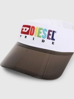 Diesel Pride Collection Visor Max 00SXZX White
