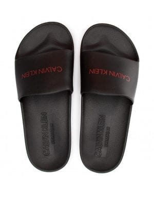 Calvin Klein Swimwear Slippers KM00375001 Black