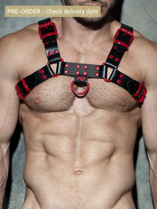addicted-fetish-adf119-leather-color-harness-c08-red-1