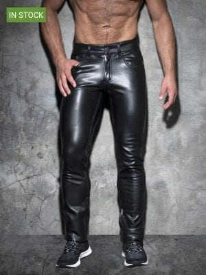 Addicted ADF101 Fetish Long Pant Black W